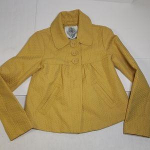 Bb Dakota vintage 70s style blazer sz s textured